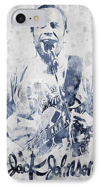 Jack Johnson Portrait Phone Case by Aged Pixel