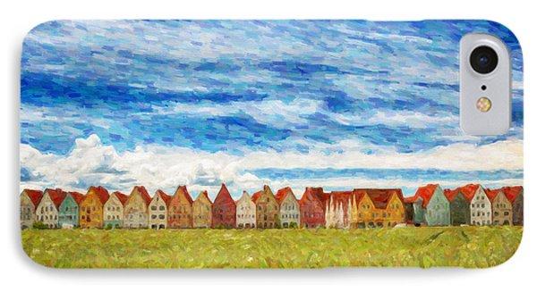 Jakriborg Digital Painting IPhone Case by Antony McAulay