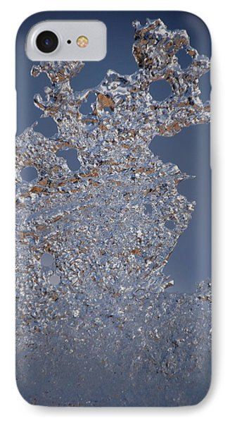 Jammer Fractal Ice 001 IPhone Case by First Star Art