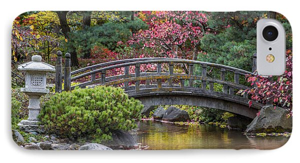 IPhone 7 Case featuring the photograph Japanese Bridge by Sebastian Musial