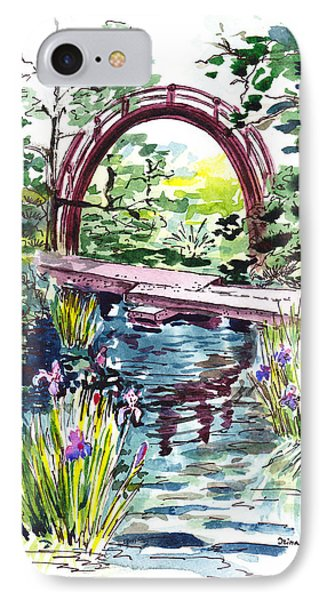 Japanese Tea Garden San Francisco Phone Case by Irina Sztukowski