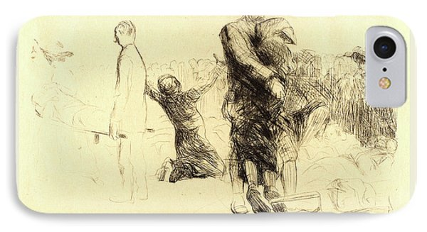 Jean-louis Forain, Lourdes, Transport Of The Paralyzed IPhone Case