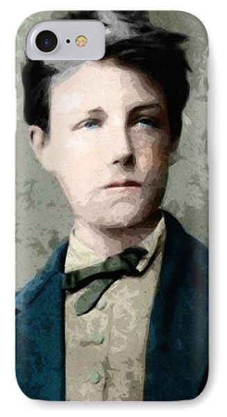 Self Portrait Jean Nicolas Arthur Rimbaud  IPhone Case