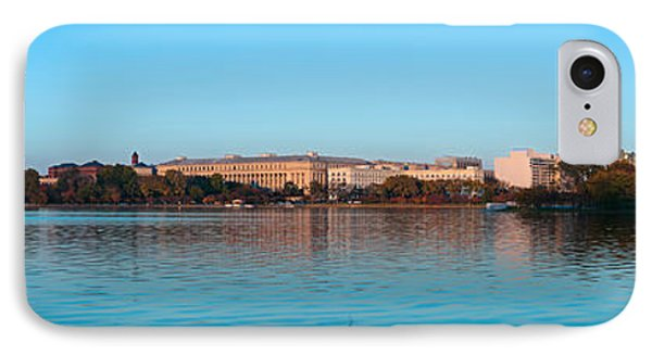 Jefferson Memorial And Washington IPhone 7 Case by Panoramic Images