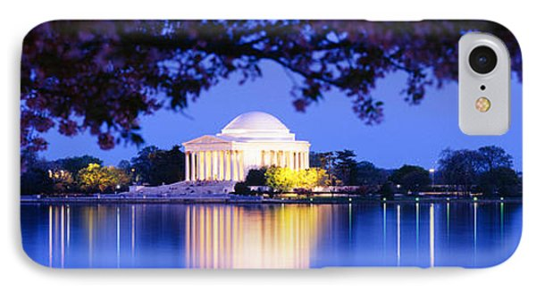 Jefferson Memorial iPhone 7 Case - Jefferson Memorial, Washington Dc by Panoramic Images