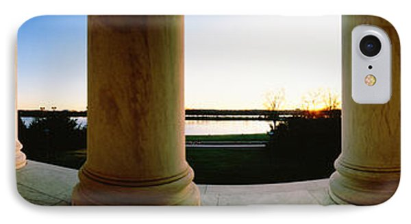 Jefferson Memorial iPhone 7 Case - Jefferson Memorial Washington Dc Usa by Panoramic Images
