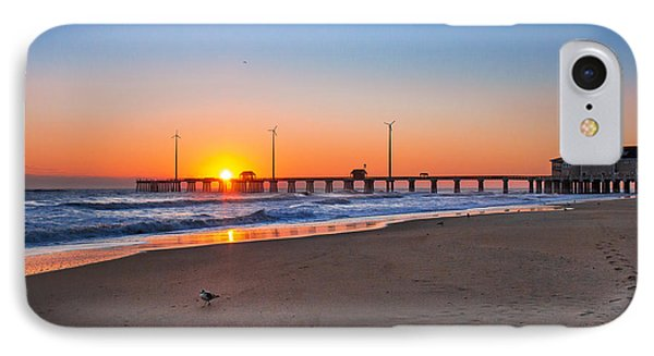 Jennettes Pier IPhone Case by Mary Almond