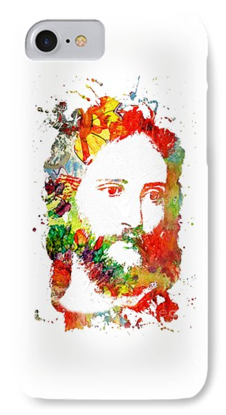 Jesus Christ - Watercolor IPhone Case