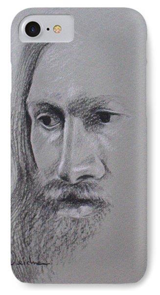 Jesus Phone Case by Kathy Weidner