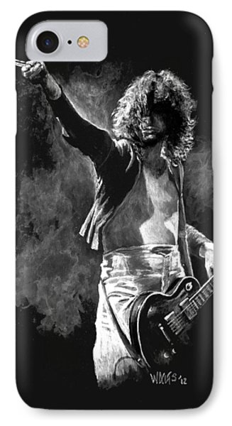 Jimmy Page Phone Case by William Walts