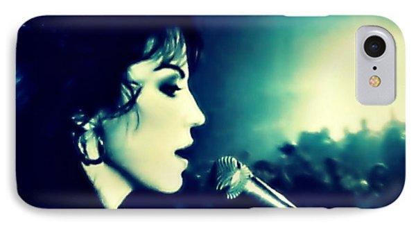 Joan Jett IPhone Case by Cyryn Fyrcyd