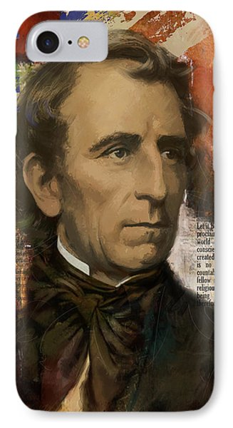John Tyler IPhone Case by Corporate Art Task Force