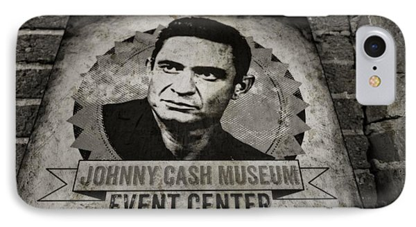 Johnny Cash Museum IPhone Case by Dan Sproul