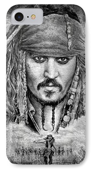 Johnny Depp Phone Case by Andrew Read