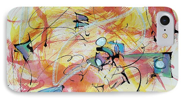 Joy Abounding IPhone Case by Asha Carolyn Young