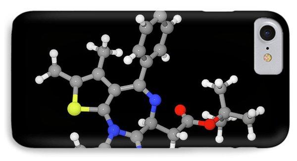 Jq1 Experimental Drug Molecule IPhone Case by Dr Tim Evans