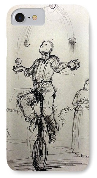 Juggler IPhone Case