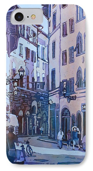 July In Florence IPhone Case by Jenny Armitage