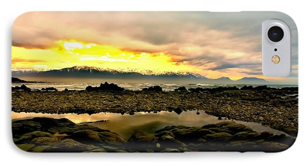 IPhone Case featuring the photograph Kaikoura Coast New Zealand by Amanda Stadther