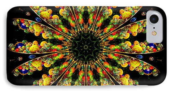 Kaleidoscope Of Blown Glass Phone Case by Amy Cicconi
