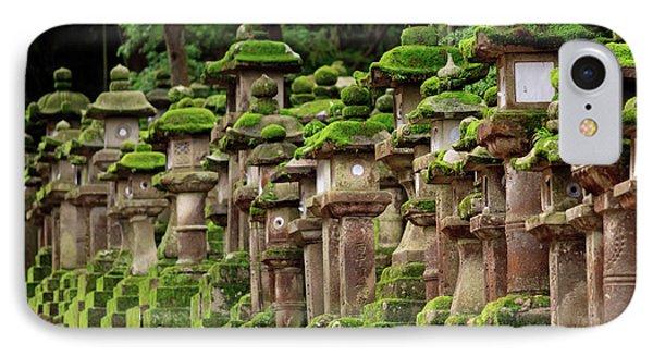 Kasuga-taisha Shrine In Nara, Japan IPhone Case by Paul Dymond