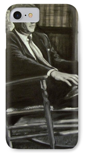 Kennedy In His Rocking Chair IPhone Case by Martha Suhocke