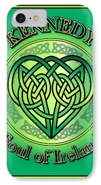 Kennedy Soul Of Ireland IPhone Case by Ireland Calling
