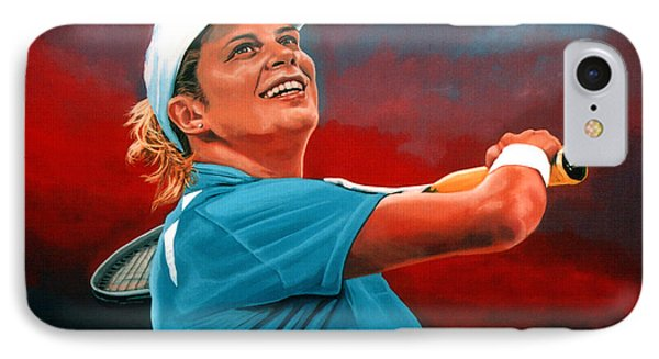 Kim Clijsters IPhone Case by Paul Meijering