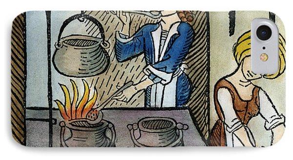 Kitchen Scene, 1507 IPhone Case