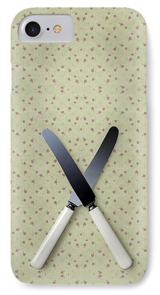 Knives Phone Case by Joana Kruse