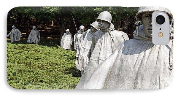 Korean War Veterans Memorial -- 2 IPhone Case