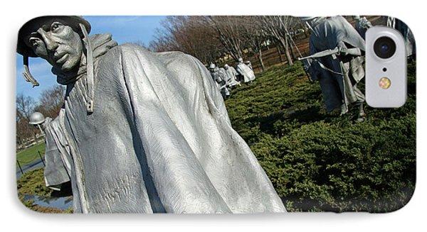 Korean War Veterans Memorial -- 3 IPhone Case