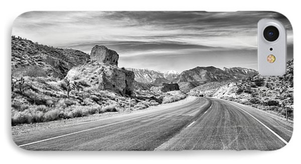 Kyle Canyon Road IPhone Case by Howard Salmon