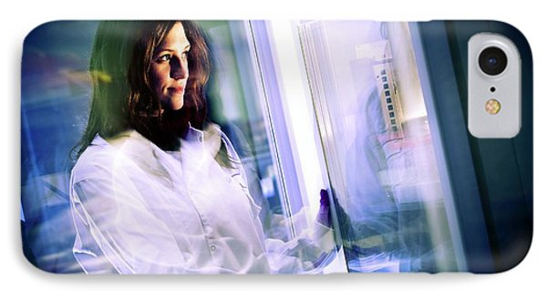 Laboratory Research IPhone Case by Dan Dunkley