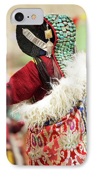 Ladakh, India Married Ladakhi Women IPhone Case