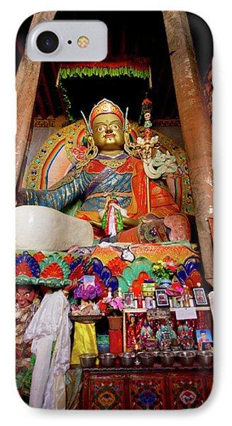 Ladakh, India The Interior Of The Hemis IPhone Case