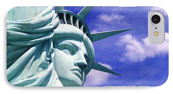 Lady Liberty IPhone Case by Jon Neidert