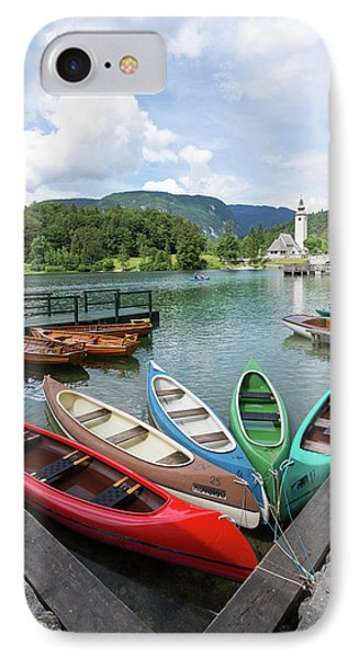 Lake Bohinj Bohinjsko Jezero, Triglav IPhone Case