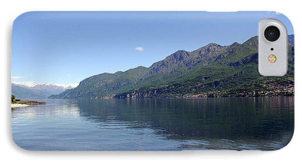 Lake Como - Italy IPhone Case by Haleh Mahbod