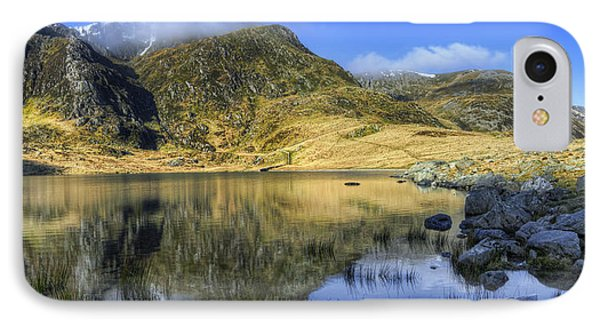 Lake Idwal Phone Case by Ian Mitchell