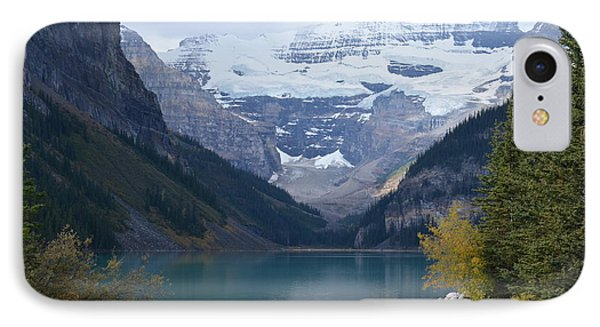 Lake Louise In Fall IPhone Case by Cheryl Miller