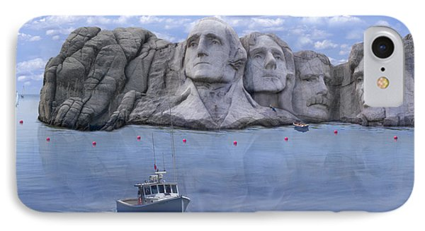 Lake Rushmore - Special IPhone Case by Mike McGlothlen