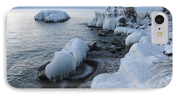 Lake Superior Blues IPhone Case by Sandra Updyke