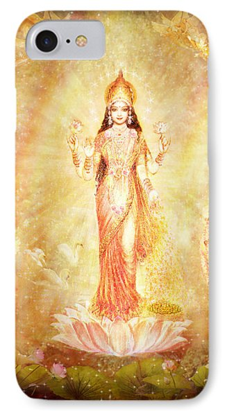 Lakshmi With Angels And Muses Phone Case by Ananda Vdovic