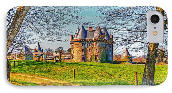 IPhone Case featuring the photograph Chateau De Landale by Elf Evans