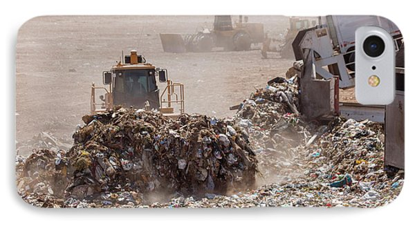 Landfill Waste Disposal Site IPhone Case