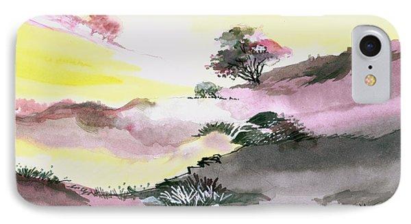 Landscape 1 IPhone Case by Anil Nene