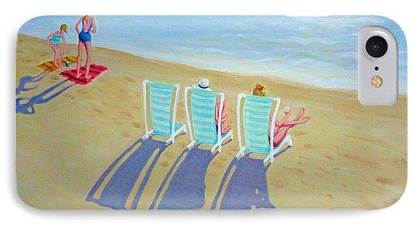 Sunset On Beach - Last Rays IPhone Case by Rebecca Korpita
