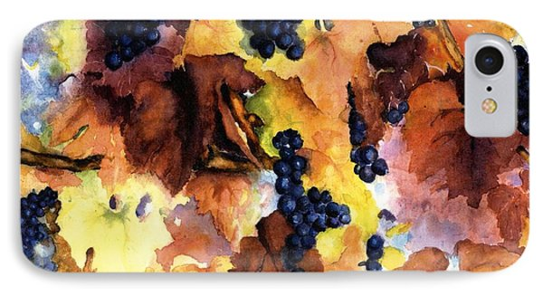 Late Harvest 3 IPhone Case by Maria Hunt