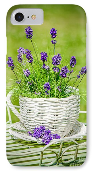 Lavender IPhone Case by Amanda Elwell